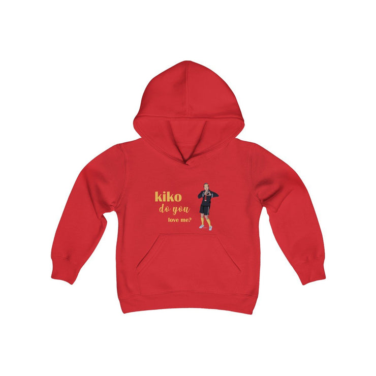 Kiko Do You Love Me? Kids Hoodie