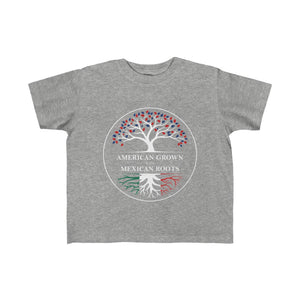 American Grown Mexican Roots Kid's Tee