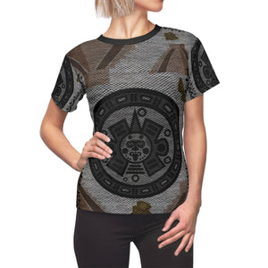 Aztec Calendar Women's All-Over Tee