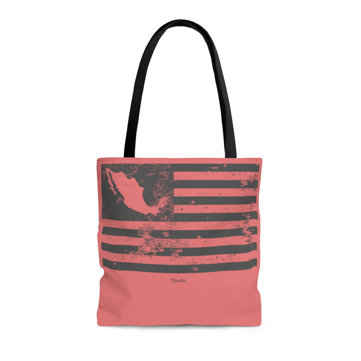 American Mexico Flag Tote Bag