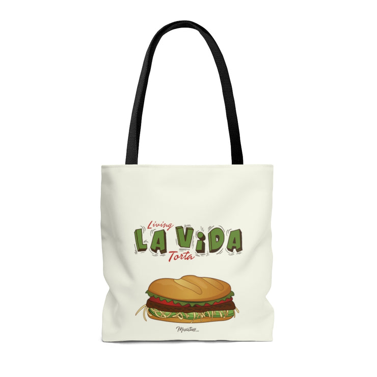 Living La Vida Torta Tote Bag