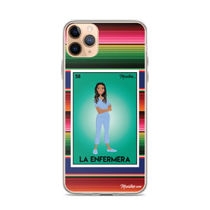 La Enfermera iPhone Case