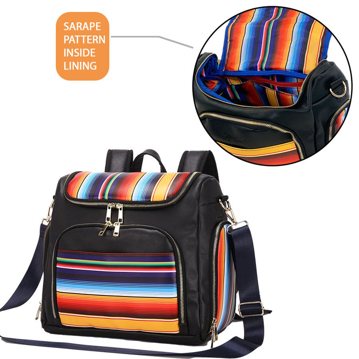 Sarape Multifunction Diaper Bag
