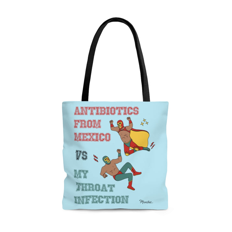 Throat Infection Tote Bag