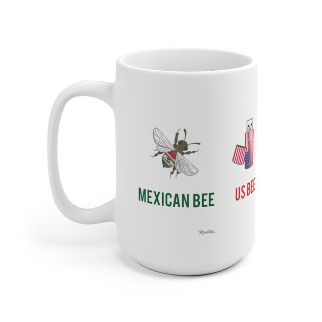 Mexican Bee US Bee Mug