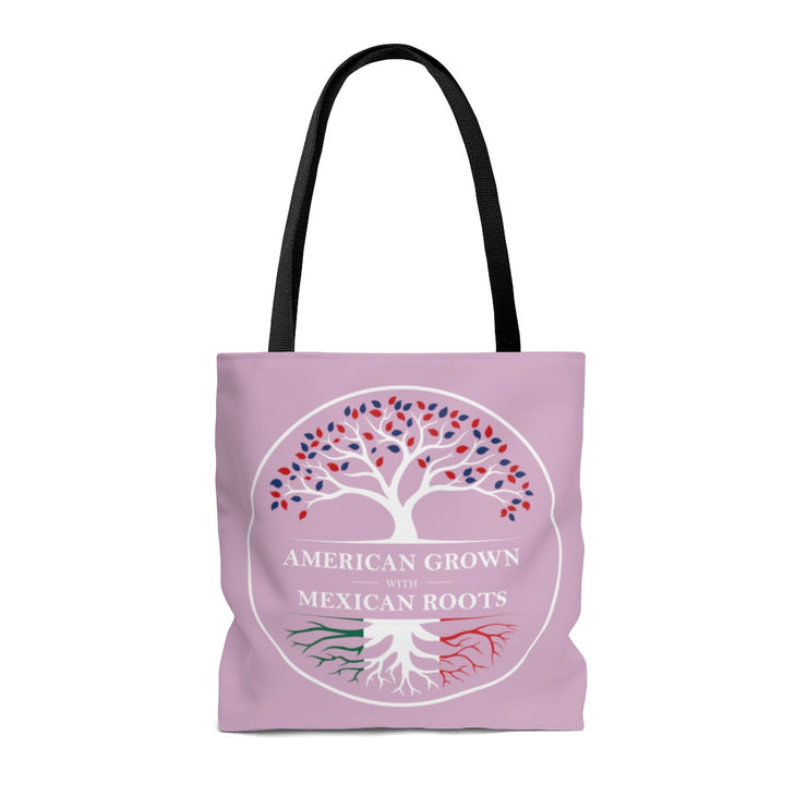 American Grown Mexican Roots Tote Bag