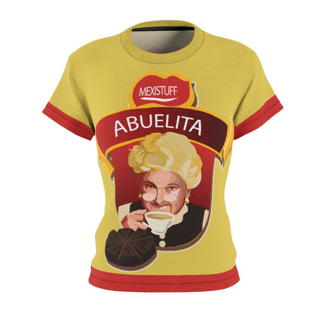 Chocolate Abuelita All-Over Women's Tee