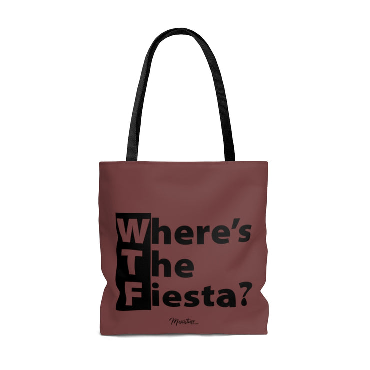 WTF (Where´s The Fiesta) Tote Bag