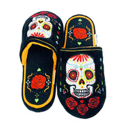 Walking Dead Calavera Slippers