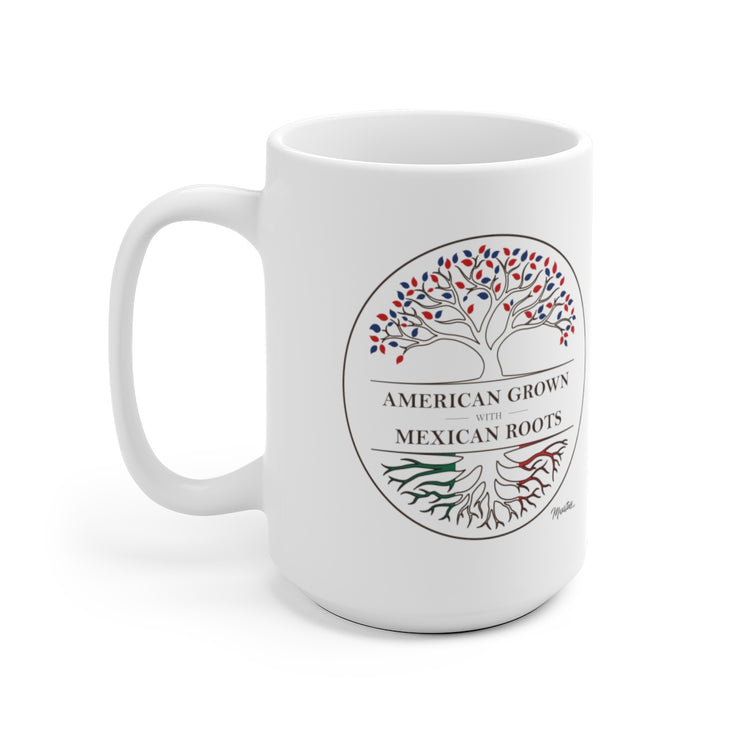 American Grown Mexican Roots Mug