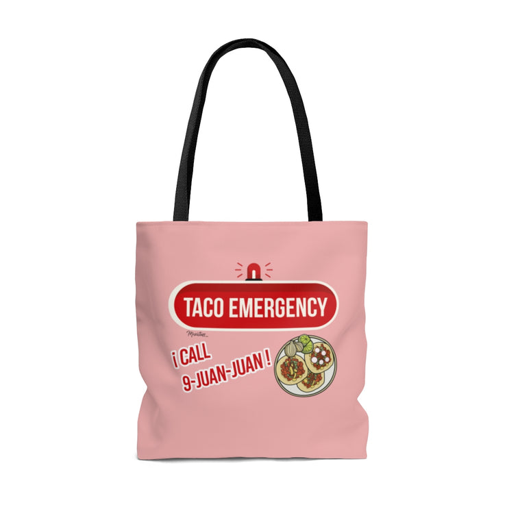 Tacos Emergency Tote Bag