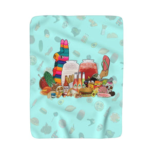 Mexistuff Blanket (Blue)