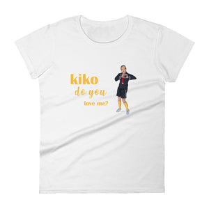 Kiko Do You Love Me? Women's Premium Tee