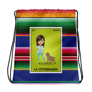 La Veterinaria Drawstring Bag