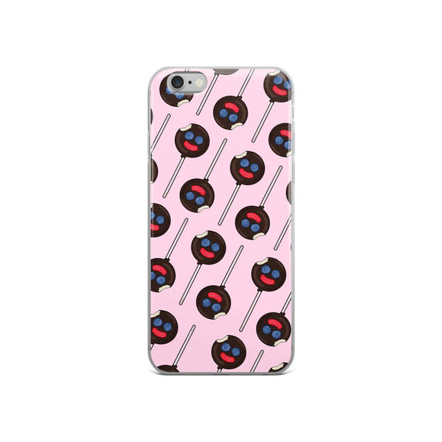 Paleta Payaso iPhone Case (Pink)