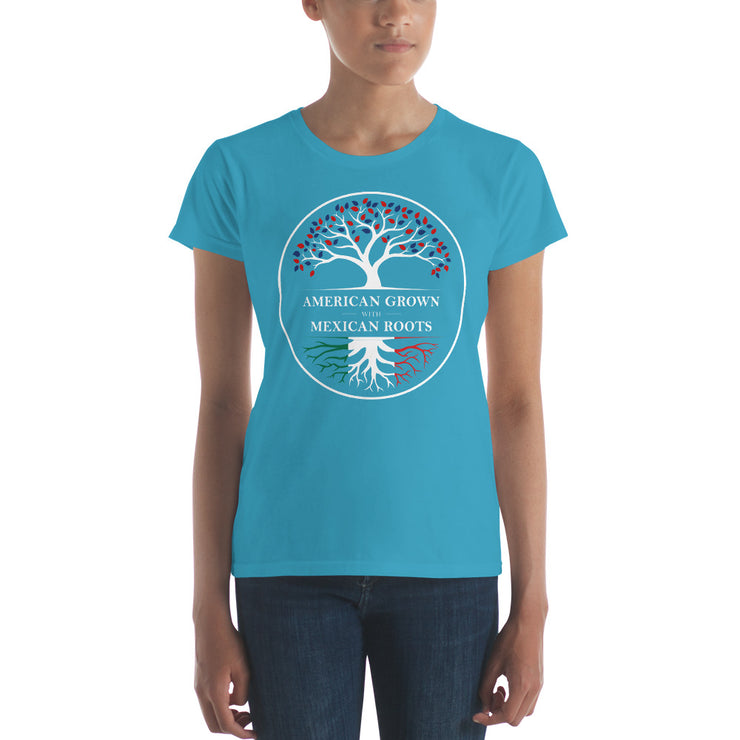 America Grown Mexico Roots Women's Premium Tee