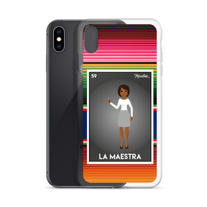 La Maestra iPhone Case
