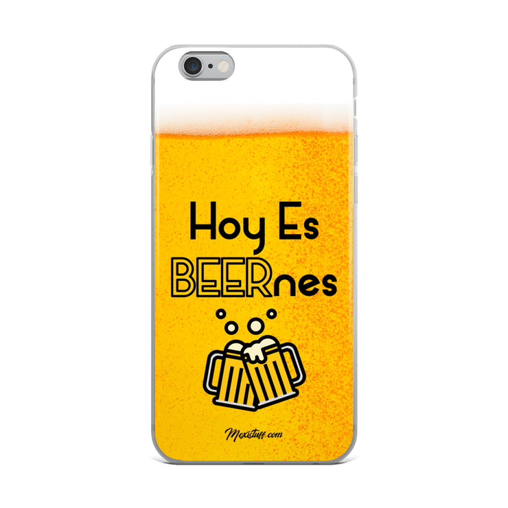 Hoy Es Beernes iPhone Case