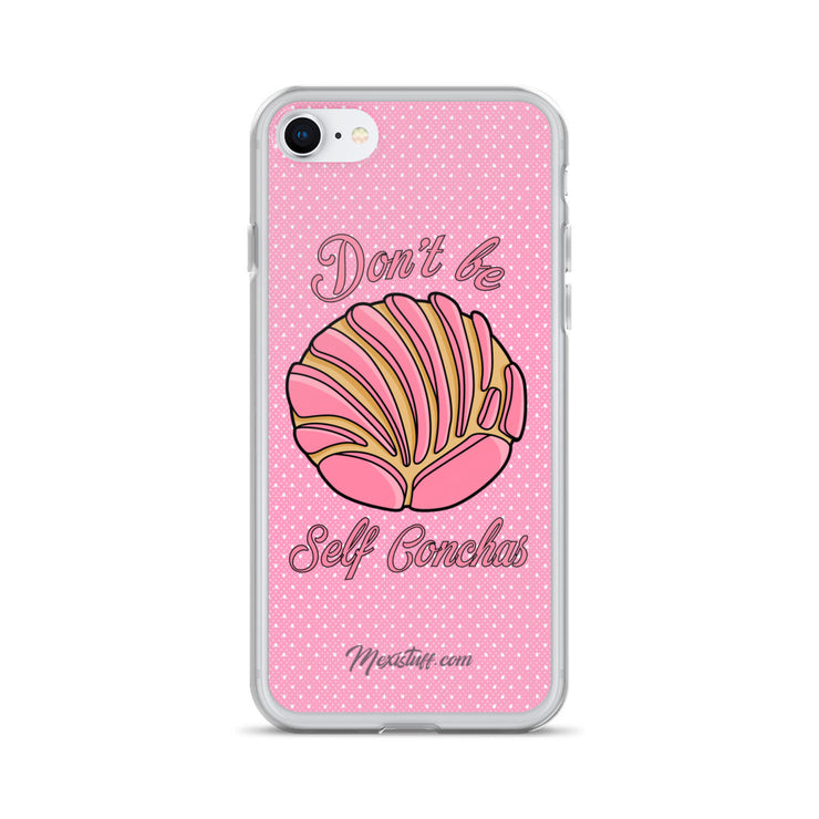 Don´t Be Self Concha iPhone Case