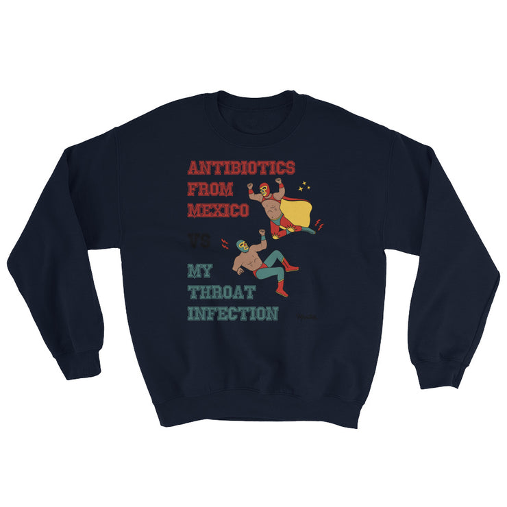 Throat Infection Unisex Sweatshirt