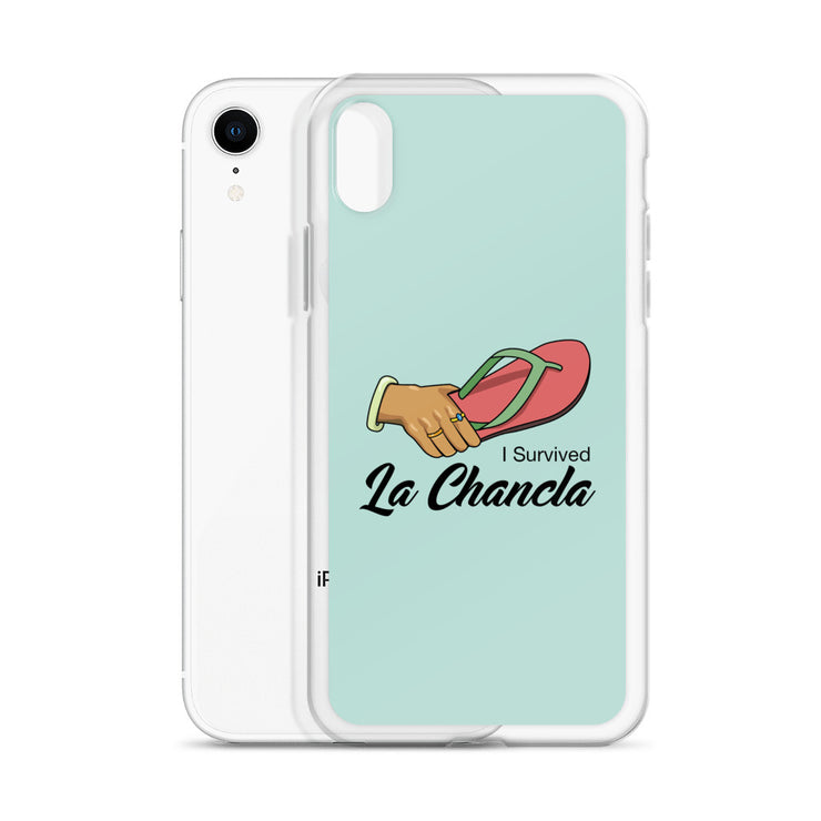I Survived  La Chancla iPhone Case