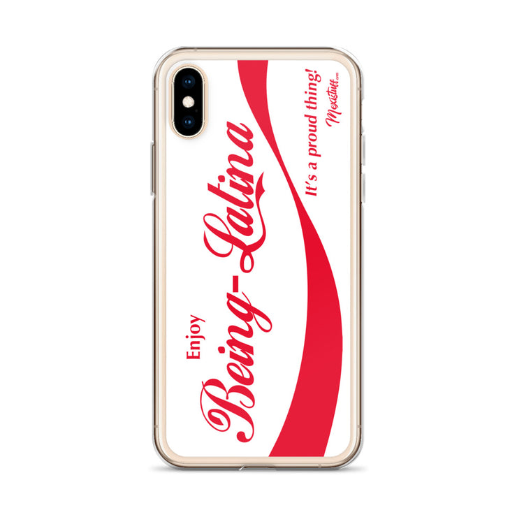 Enjoy Being Latina iPhone Case