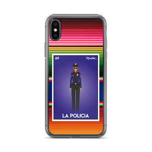 La Policia iPhone Case