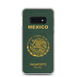 Mexican Passport Samsung Case