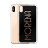 Morena iPhone Case