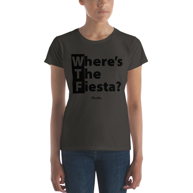 WTF (Where´s The Fiesta) Women's Premium Tee