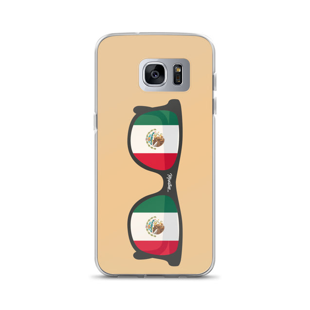 Mexican Flag Sunglasses Samsung Case