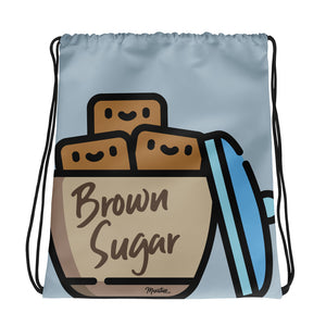 Brown Sugar Drawstring bag