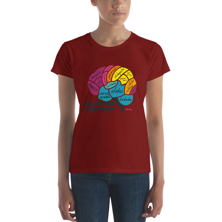 Mexican Food Lover´s Brain Women's Premium Tee