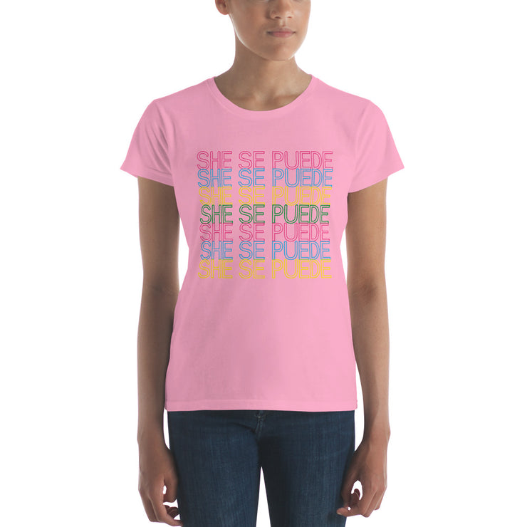 She Se Puede Women's Premium Tee
