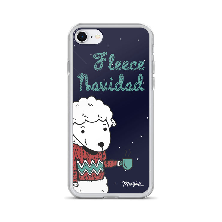 Fleece Navidad iPhone Case