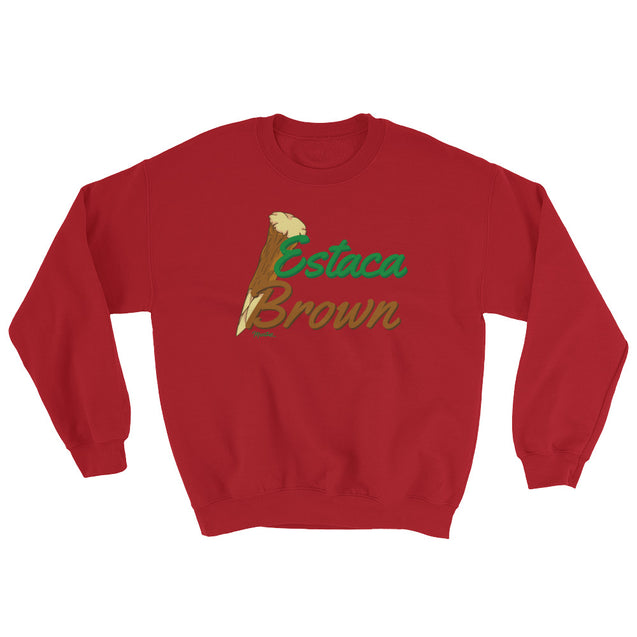 Estaca Brown Unisex Sweatshirt