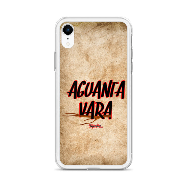 Aguanta Vara iPhone Case