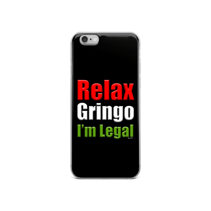 Relax Gringo iPhone Case
