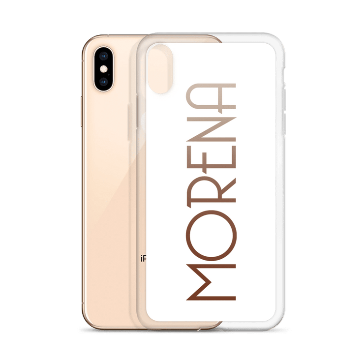 Morena iPhone Case (White)