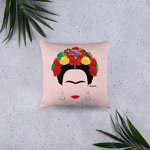 Frida Kahlo Stuffed Pillow