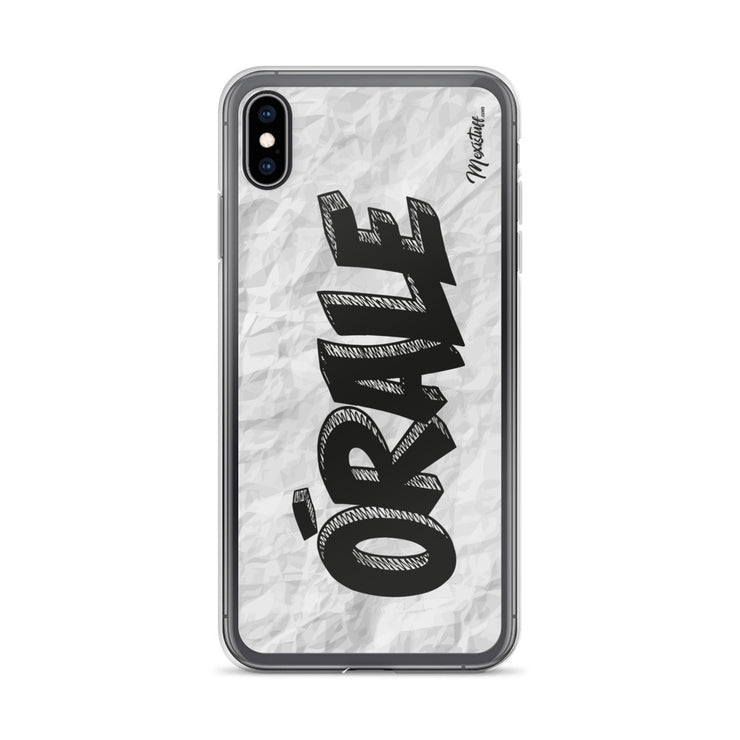 Orale iPhone Case
