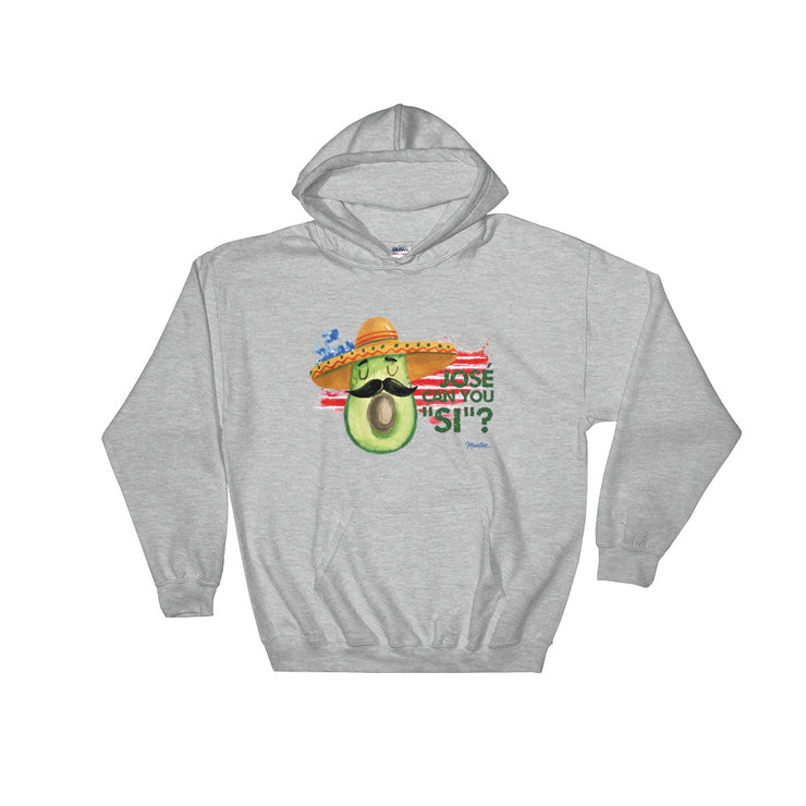 Jose Can You Si Unisex Hoodie