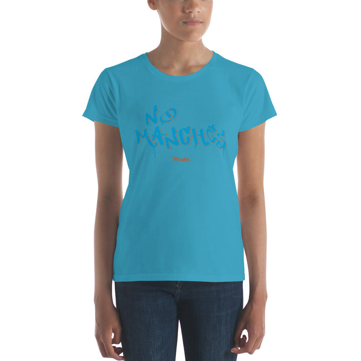 No Manches Women's Premium Tee