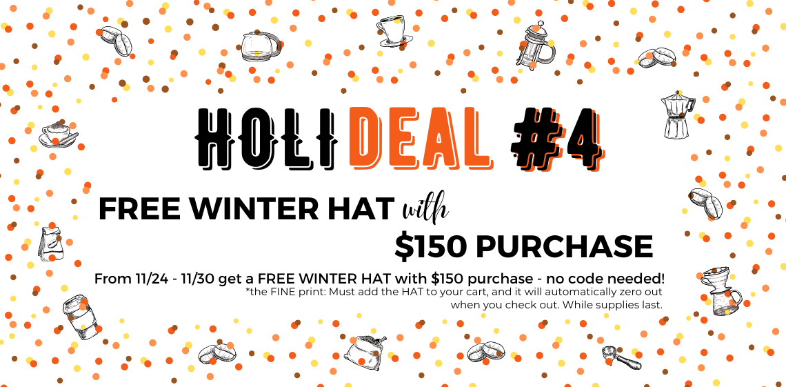 Holideal #4 - Free Winter Hat with $150 Purchase