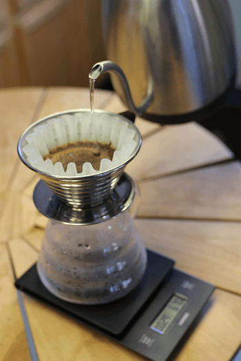 The classic pour over