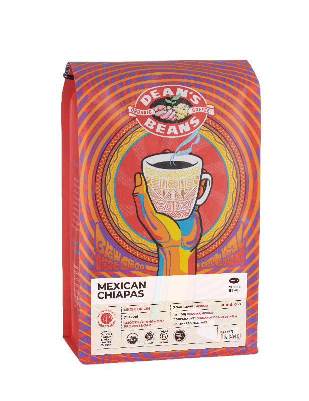 Mexican Chiapas Coffee - Front Label
