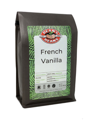 French Vanilla Kiss - Front Label