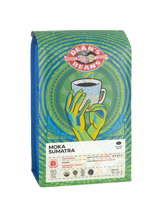 Moka Sumatra Coffee - Front Label