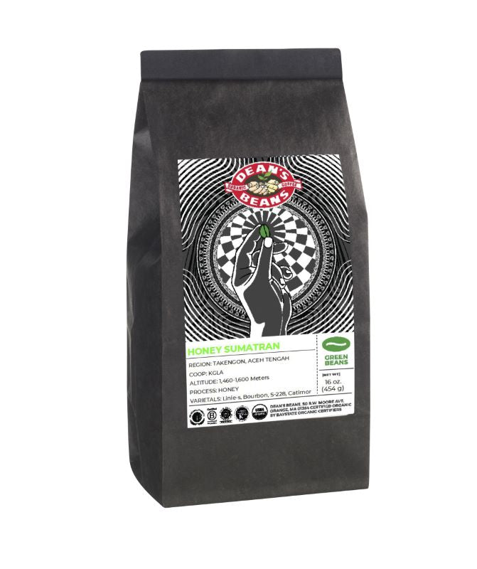Organic  *Limited Edition* Honey Sumatran Green Coffee (Unroasted)