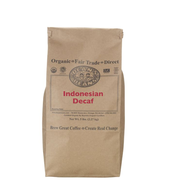 Organic Indonesian Green Coffee - Natural Water Decaf (Unroasted)